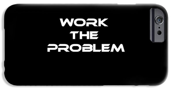 Work The Problem The Martian Tee IPhone 6s Case