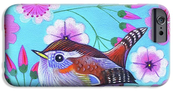 Wren IPhone 6s Case by Jane Tattersfield