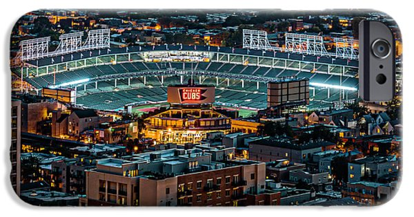 Wrigley Field From Park Place Towers Dsc4678 IPhone 6s Case by Raymond Kunst