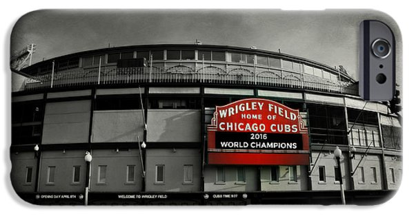 Cow iPhone 6s Case - Wrigley Field by Stephen Stookey