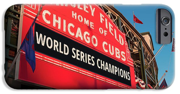 Wrigley Field World Series Marquee Angle IPhone 6s Case