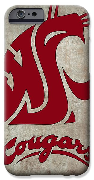 W S U Cougars IPhone 6s Case