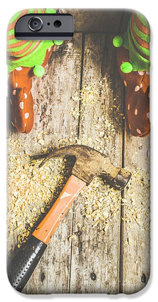 Elf iPhone 6s Case - Xmas Workshop Elf by Jorgo Photography - Wall Art Gallery