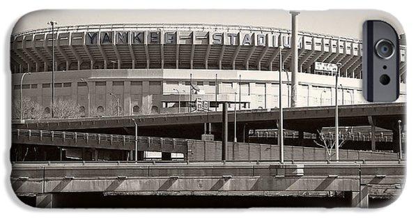 Yankee Stadium iPhone 6s Case - Yankee Stadium    1923  -  2008 by Daniel Hagerman