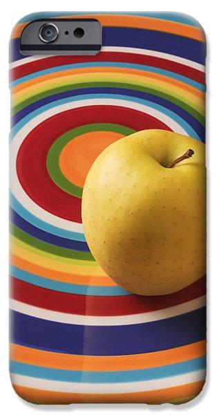 Yellow Apple  IPhone 6s Case