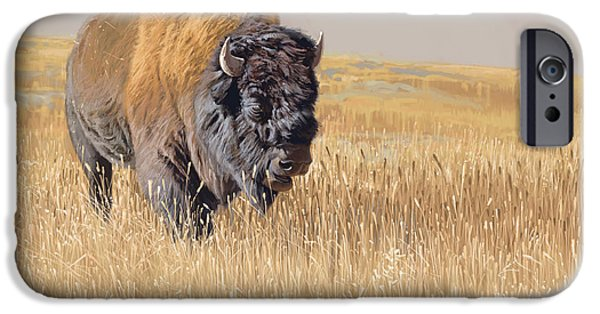 Mammals iPhone 6s Case - Yellowstone King by Aaron Blaise