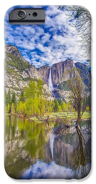 Yosemite Falls In Spring Reflection IPhone 6s Case by Scott McGuire