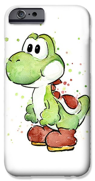 Yoshi Watercolor IPhone 6s Case