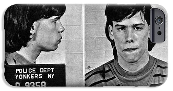 Young Steven Tyler Mug Shot 1963 Pencil Photograph Black And White IPhone 6s Case