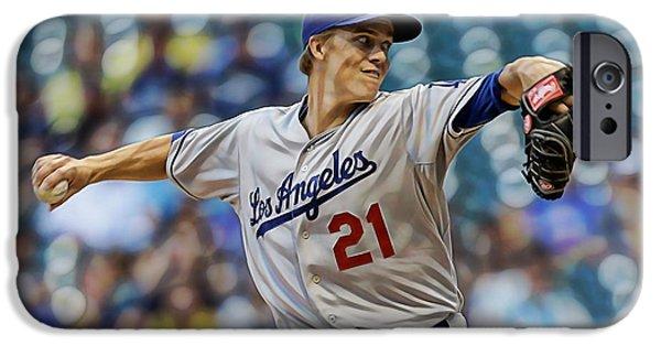 Zack Greinke Los Angeles Dodgers IPhone 6s Case