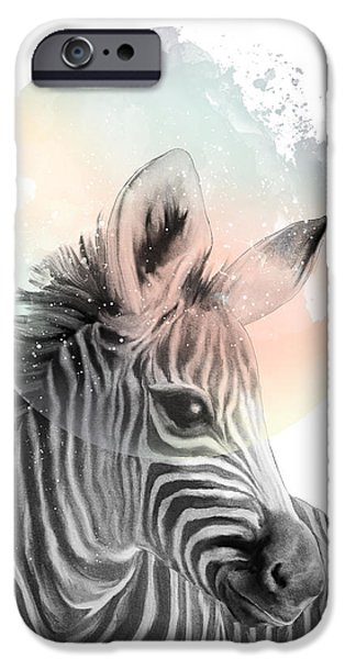 Zebra // Dreaming IPhone 6s Case by Amy Hamilton