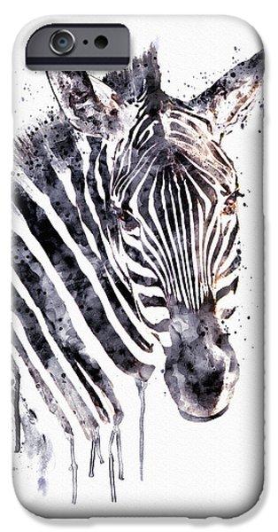 Zebra Head IPhone 6s Case by Marian Voicu