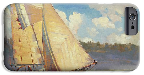 Sailboat iPhone 6s Case - Zephyr by Steve Henderson