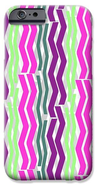 Zig Zig Stripes IPhone 6s Case