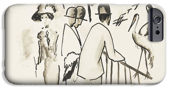 Zoological Garden II IPhone 6s Case by August Macke