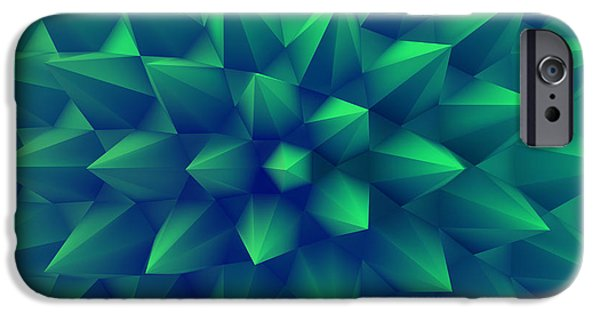 Digital Image iPhone 6s Case - 3d Abstract Background. Vector by Login