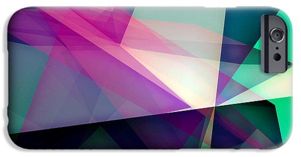 Space iPhone 6s Case - Abstract Dynamic Composition by Michalis