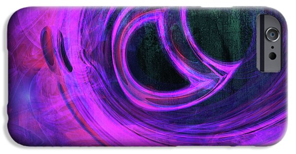 Digital Image iPhone 6s Case - Abstract Rendered Artwork 4 by Johan Swanepoel