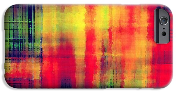 Space iPhone 6s Case - Art Abstract Geometric Pattern by Irina qqq