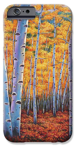 Contemporary Realism iPhone 6s Case - Autumn's Dreams by Johnathan Harris