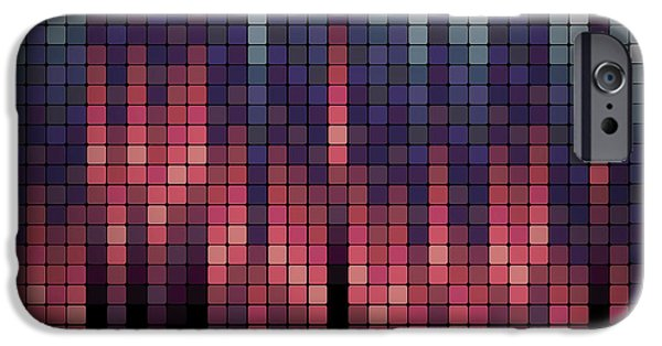 Digital Image iPhone 6s Case - Business Blox - Geometric Repeating by Undergroundarts.co.uk