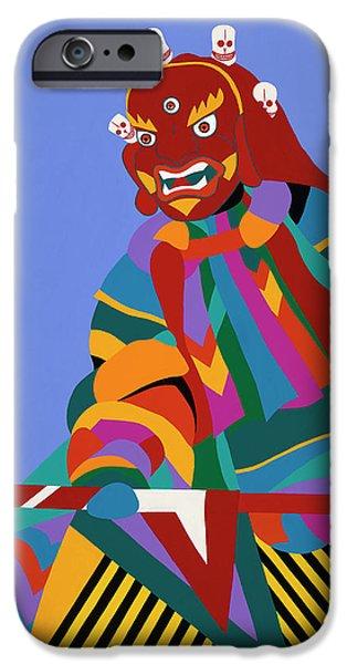 iPhone 6s Case - Cham Dancer Wrathful Deity by Synthia SAINT JAMES