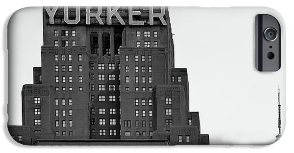 Office Buildings iPhone 6s Case - Defining New York by Az Jackson