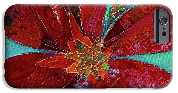 Scarlet iPhone 6s Case - Fiery Bromeliad I by Shadia Derbyshire