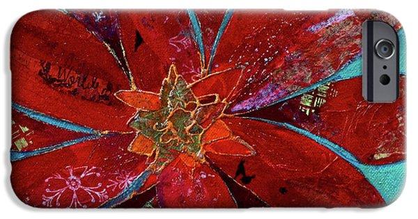 Scarlet iPhone 6s Case - Fiery Bromeliad II by Shadia Derbyshire