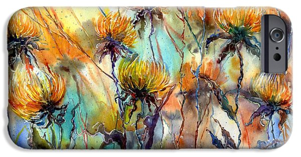 Perfume iPhone 6s Case - Frozen Chrysanthemums by Suzann Sines