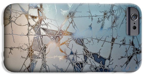 Fractal iPhone 6s Case - Frozen City Of Ice by Scott Norris