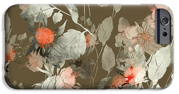 Perfume iPhone 6s Case - Imprint Fantastic Paint Bouquet. Hand by Liia Chevnenko