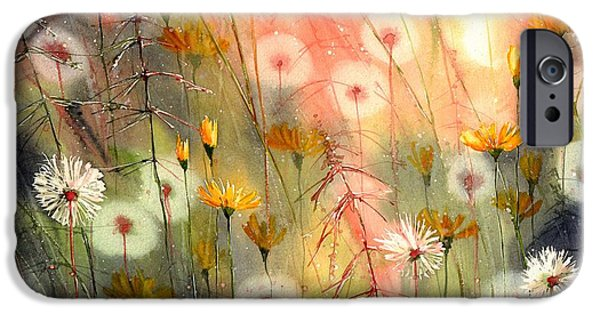 Perfume iPhone 6s Case - In The Morning Haze by Suzann Sines