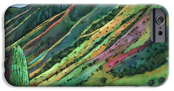 Contemporary Realism iPhone 6s Case - Jackson Hole by Johnathan Harris