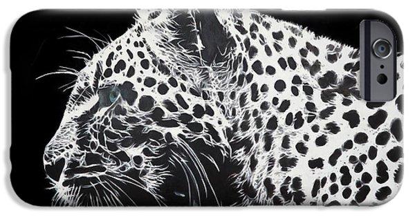 Contemporary Realism iPhone 6s Case - Leopard by Dori Murakami