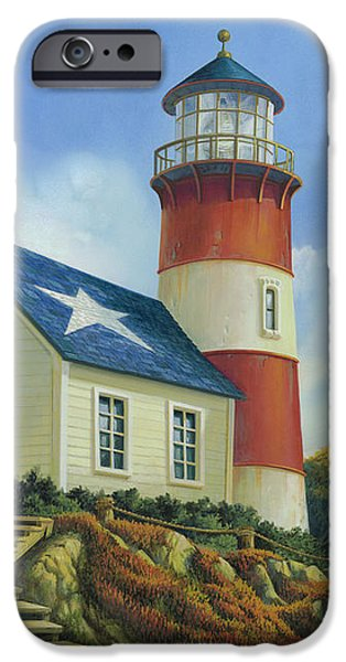 New England Coast iPhone 6s Case - Liberty's Light by Michael Humphries