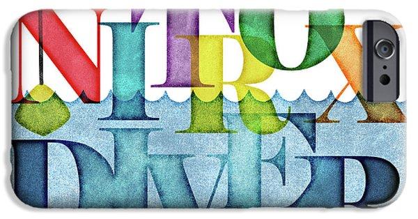 Scuba Diver iPhone 6s Case - Nitrox Diver Colorful Scuba by Flo Karp