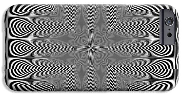 Digital Image iPhone 6s Case - Optical Illusion by Markus Gann