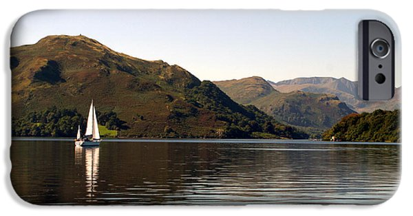 Sailboat iPhone 6s Case - Sailboat On Ullswater In The Lake by Paul Banton