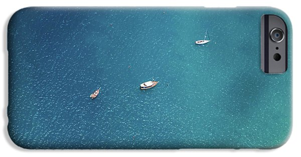 Teal iPhone 6s Case - Sailing On The Blue by Az Jackson