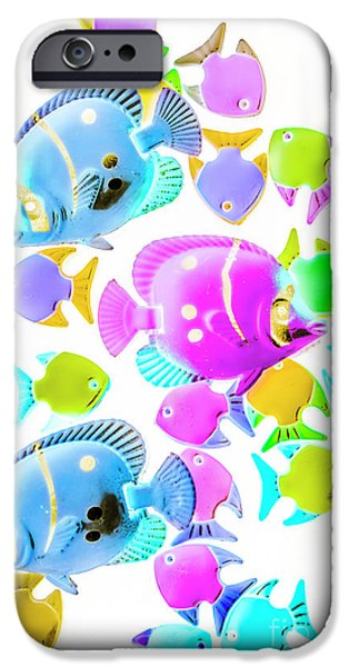 Aquarium iPhone 6s Case - Sea Swimmers by Jorgo Photography - Wall Art Gallery
