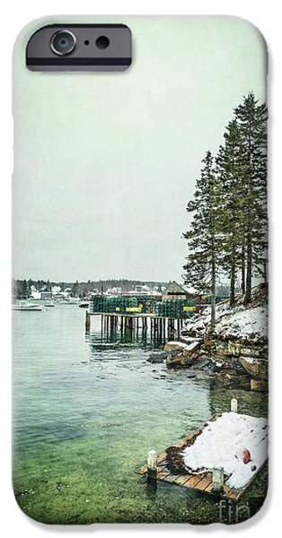 New England Coast iPhone 6s Case - Silent Season by Evelina Kremsdorf