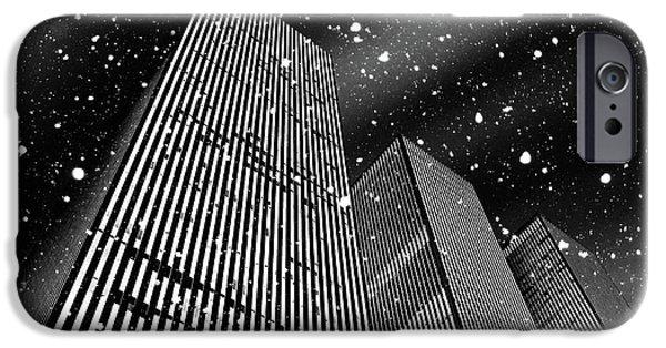 Digital Image iPhone 6s Case - Snow Collection Set 03 by Az Jackson