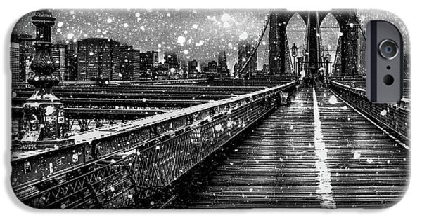 Digital Image iPhone 6s Case - Snow Collection Set 05 by Az Jackson