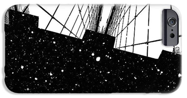 Digital Image iPhone 6s Case - Snow Collection Set 06 by Az Jackson