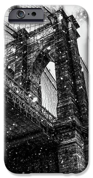 Digital Image iPhone 6s Case - Snow Collection Set 08 by Az Jackson