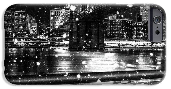 Digital Image iPhone 6s Case - Snow Collection Set 09 by Az Jackson