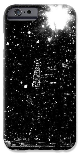 Digital Image iPhone 6s Case - Snow Collection Set 11 by Az Jackson
