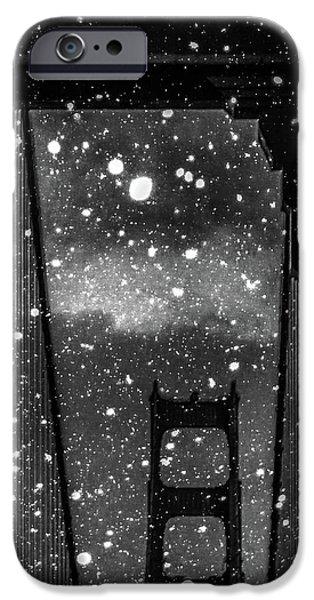 Digital Image iPhone 6s Case - Snow Collection Set 12 by Az Jackson