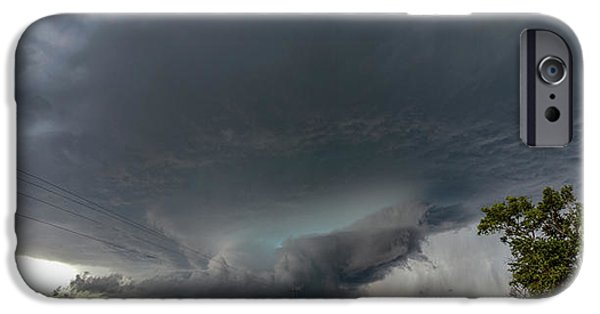 Nebraskasc iPhone 6s Case - Storm Chasin In Nader Alley 008 by NebraskaSC